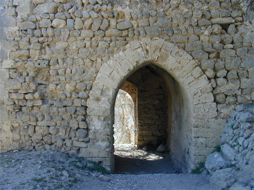 Stone-entrance