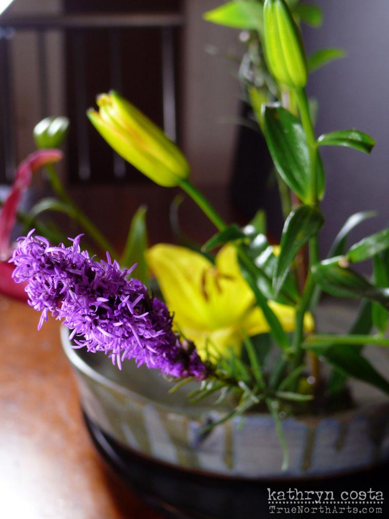 3-Ikebana-Lillies
