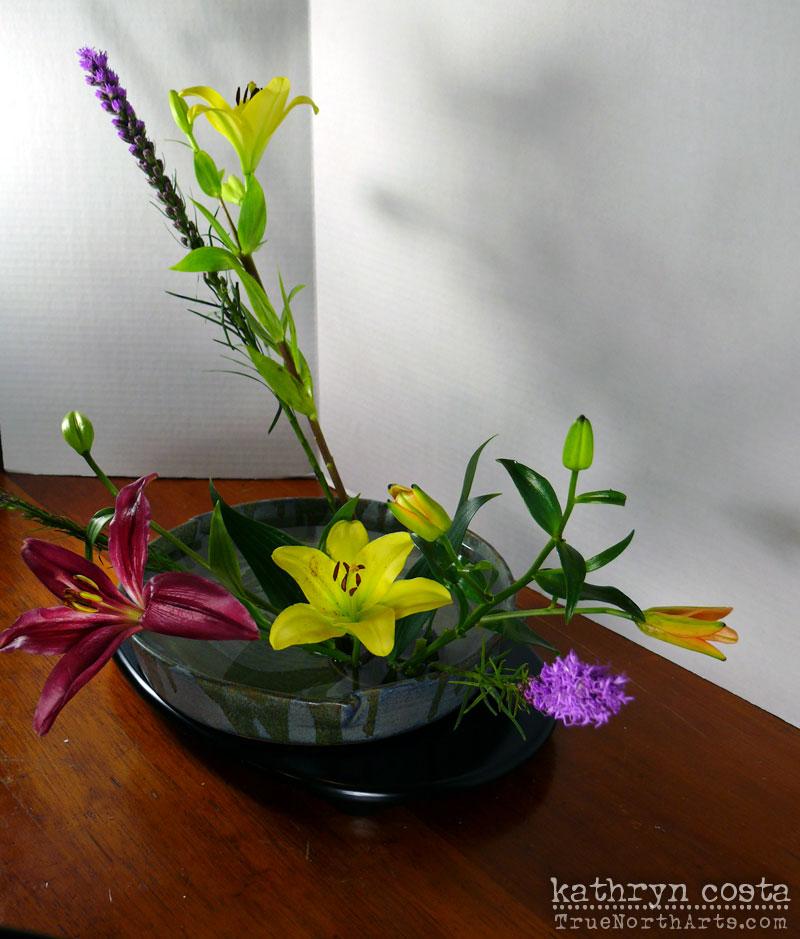 5-Ikebana-Lillies