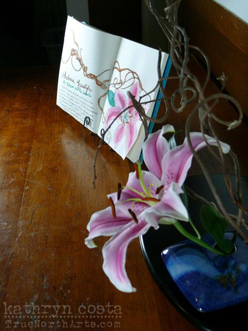 Ikebana-bramble