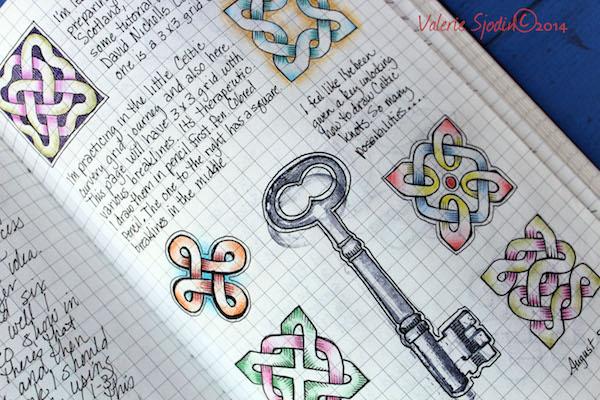 3. Celtic Knot key-Valerie-Sjodin