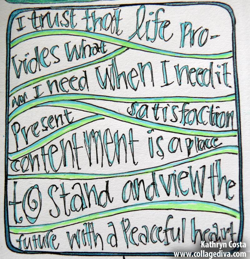 5-contentment