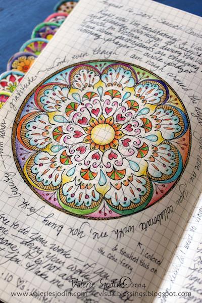 2. Mandala Visual Prayer-pen-pencil-Valerie-Sjodin