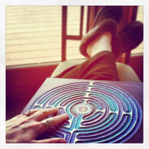 Labyrinth-CrownChakra-Retreat